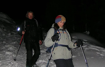 Randonnée Nocturne en Raquettes dans les Pyrénées