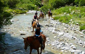 Balade à cheval aux portes de la Vanoise