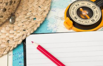 Atelier d'écriture itinérant dans le bleu de Marseille