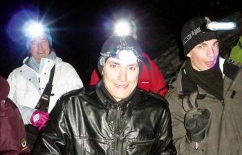 Randonnée nocturne en raquettes suivi d'un dîner montagnard