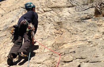 Sainte Victoire : initiation aux grandes voies d'escalade