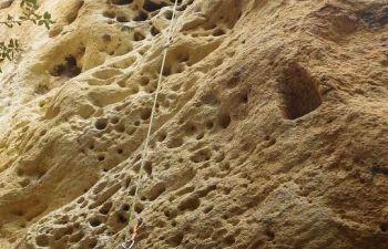 Journée escalade sur site naturel dans le Luberon