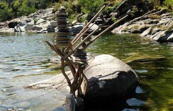 Gorges du Gardon : randonnée les pieds dans l'eau et baignades