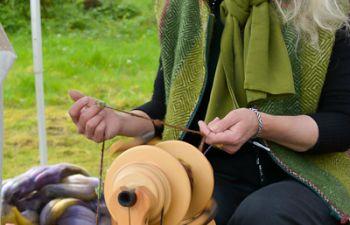Filage au rouet ou au fuseau : stage d'initiation dans l'Ain