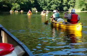 Une journée de canoë au fil de la Dordogne